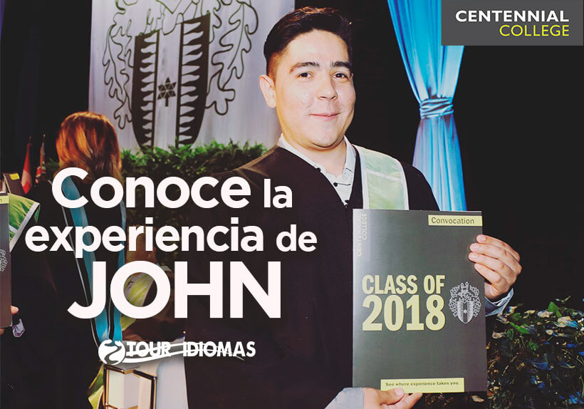 Testimonio de nuestro estudiante John en Centennial College