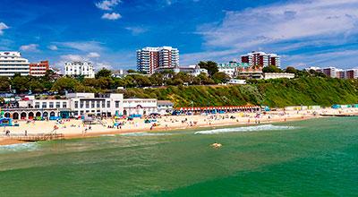 Ven a Bournemouth con Tour Idiomas