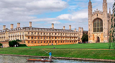 Ven a Cambridge con Tour Idiomas