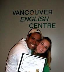 David Diaz en Vancouver con Tour Idiomas
