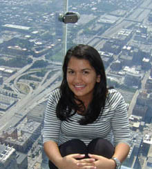 Nidia Rivero en Chicago con Tour Idiomas